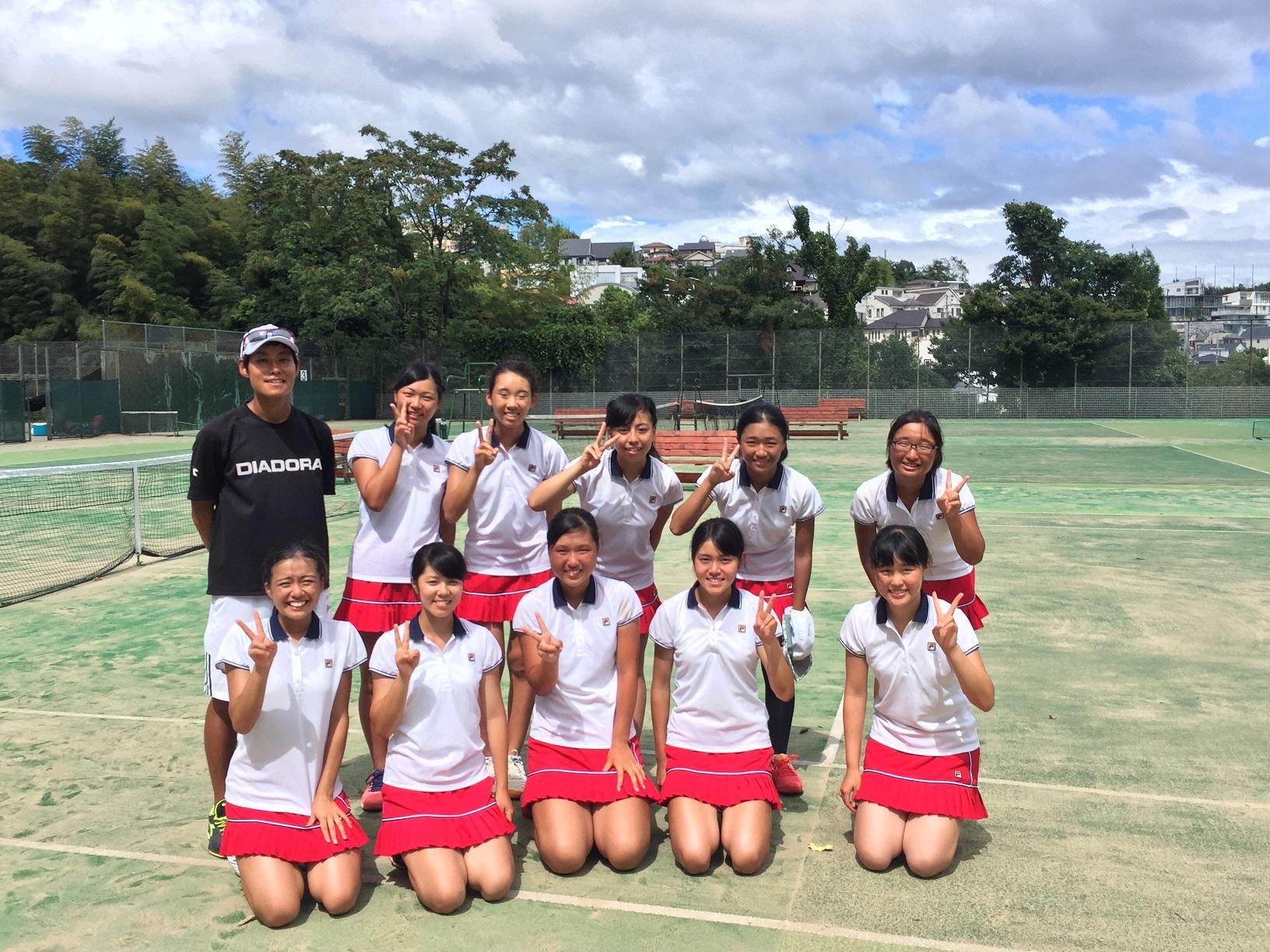 第30回阪神高等学校テニス大会団体戦