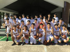 中学男子バスケットボール 私学大会