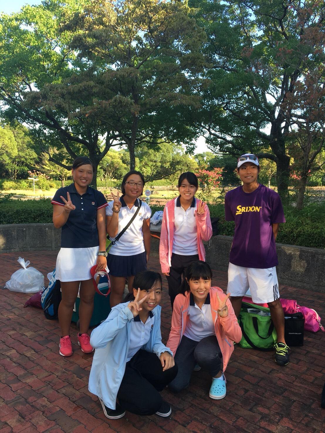 高校女子テニス部 新人大会本戦