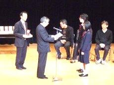 演劇部の表彰