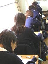 授業中のスナップ